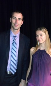 Bruins Zdeno Chara and his lovely wife