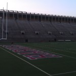 A portion of Harvard Stadium