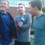 Burke & Ference speak to Steve Buckley of the Boston Herald