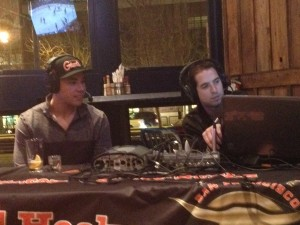 Mikael Tam with Jason Lockhart at SF Bulls Weekly