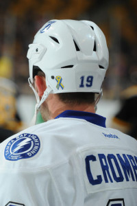 TBL player helmet