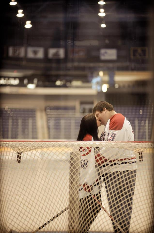 How To Planning A Hockey Wedding The Pink Puck