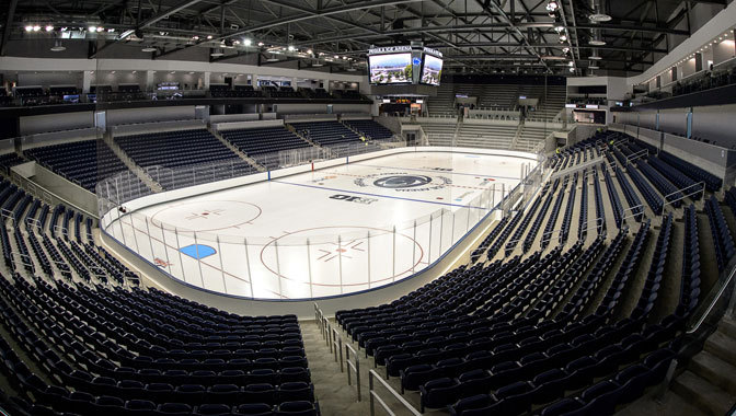 Penn State Opens Pegula Ice Arena With Win The Pink Puck