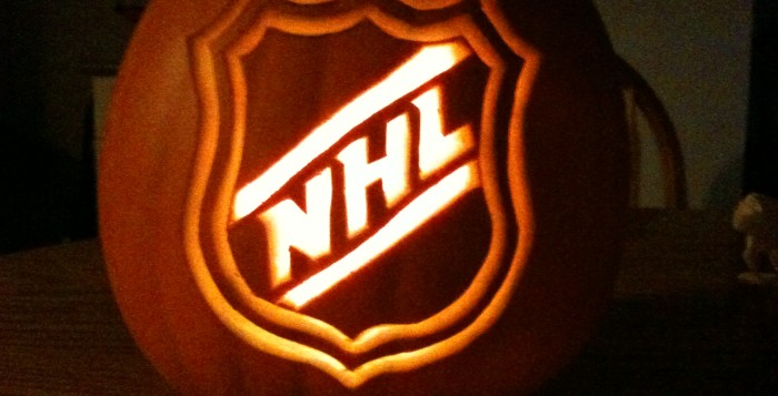 Hockey halloween costume ideas to light the lamp