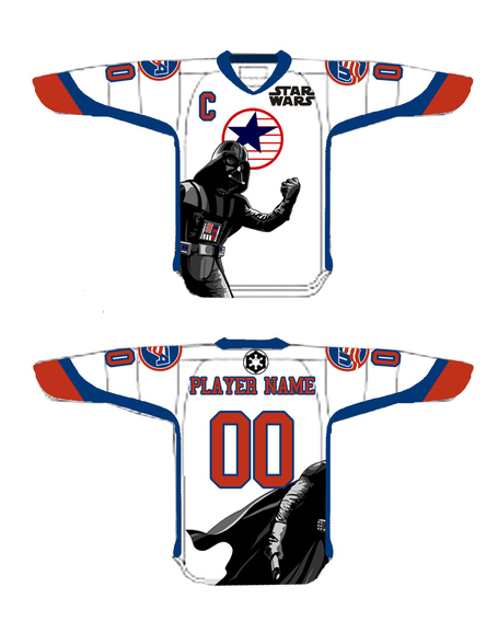 National Team Development Program  Star Wars Night jerseys, usahockey.com
