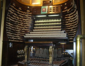 Boardwalk Hall Auditorium Organ in Atlantic City, NJ.