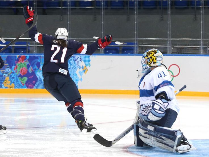 Team USA Olympian Hilary Knight to Practice with NHL s Anaheim Ducks as  Part of Girls  Hockey Initiative 95e5e8d08f7