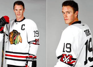 7ef32d0eab9 Blackhawks Reveal Winter Classic Sweater
