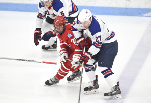 Team USA and BU Terriers (Photo: Steve McLaughlin/BU Athletics)
