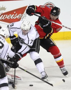 Calgary Flames and L.A. Kings