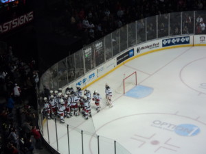 Griffins Win 3 - 2 in Overtime