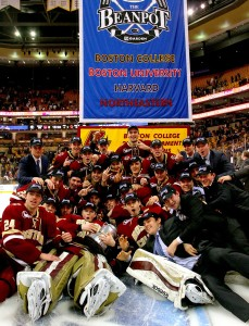 2016 Beanpot Winners - Boston College (Photo: Alan Sullivan)