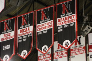 Hockey East Banner - Northeastern Huskies