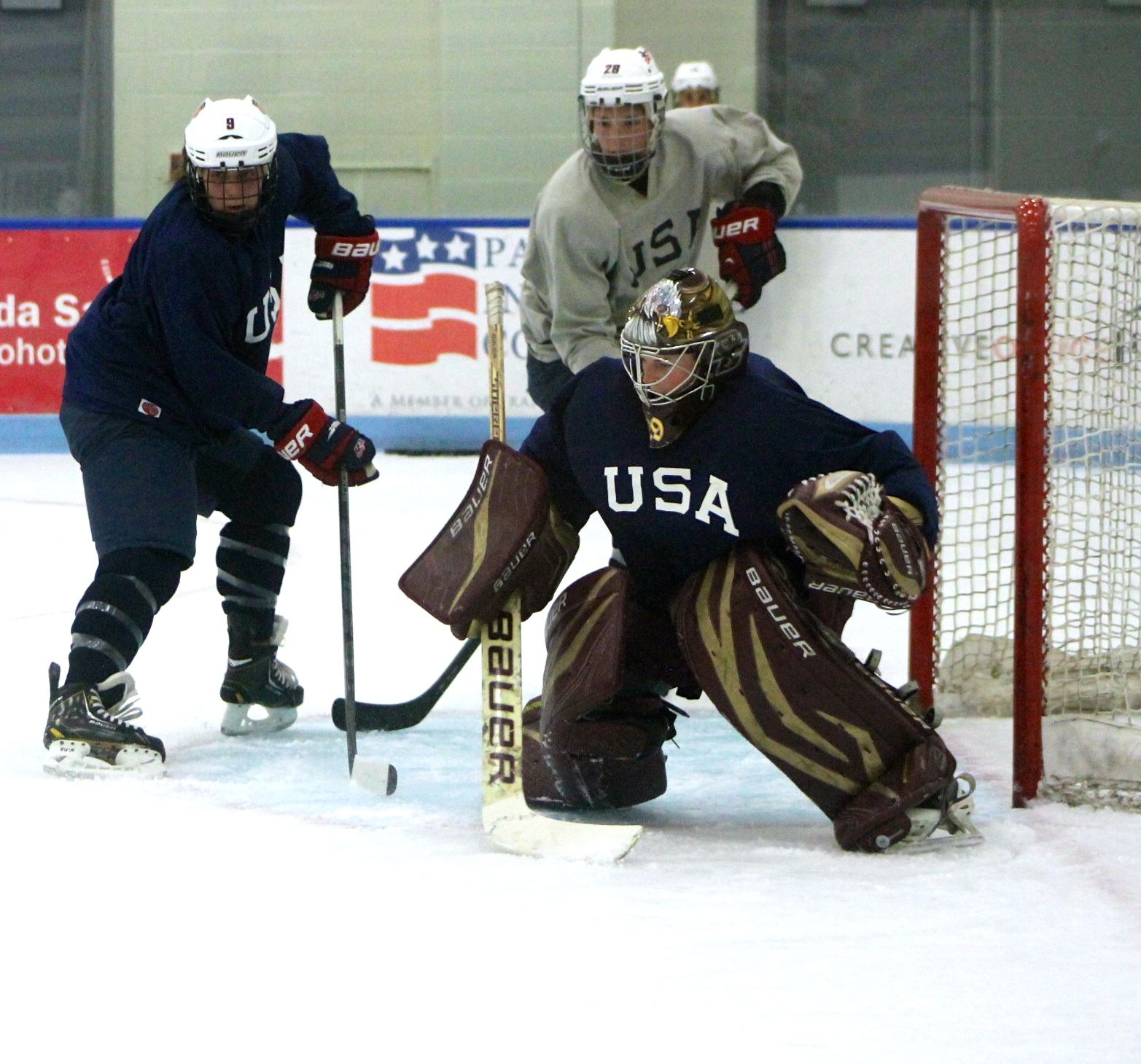 Gallery Usa Hockey Women S Evaluation Camp The Pink Puck
