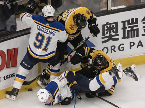 online store 20e16 48117 Boston Takes Game 1 of Final Over Blues | The Pink Puck